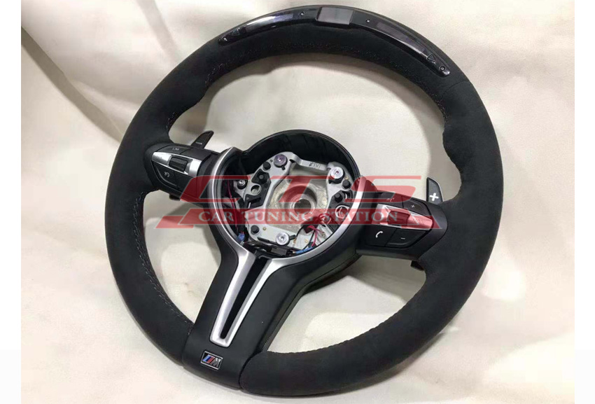 M performance steering wheel for BMW