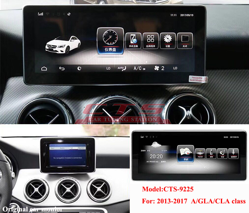 Mercedes-Benz GLA  CLA  A  class android monitor