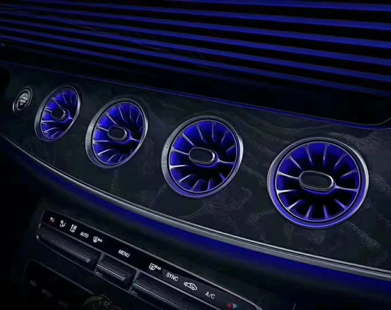 LED turbo airvent for Mercedes-benz Promotion