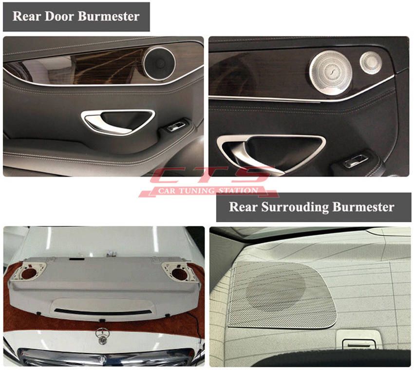 burmester audio system for Mercedes-Benz W213 E class