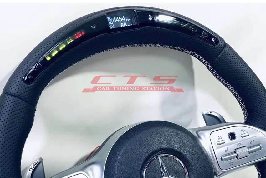 LED display AMG steering wheel