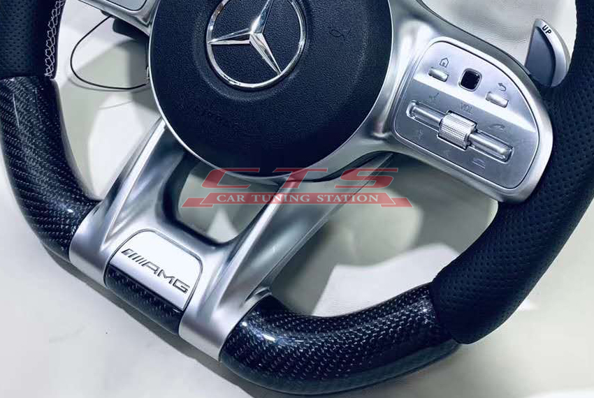 Mercedes-benz AMG led steering wheel